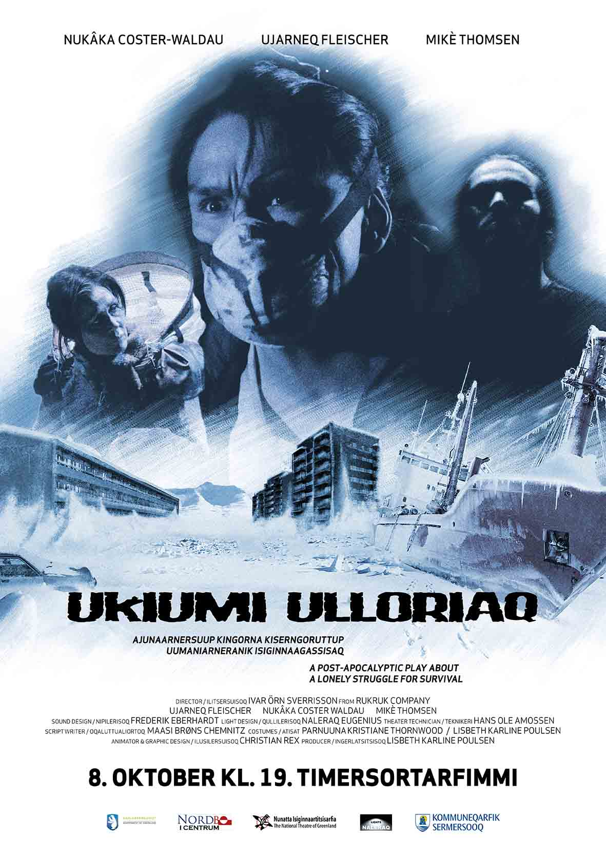 Ukiumi Ulloriaq Plakat