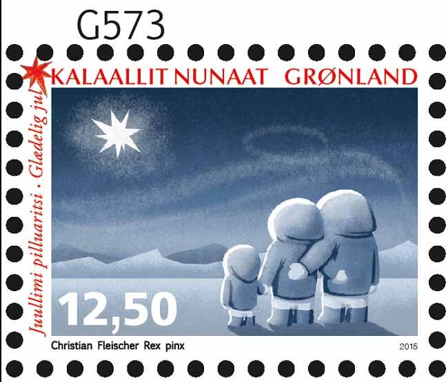Frimærke Jul 1